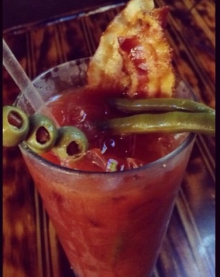 Bloody Mary (you can add real bacon!)