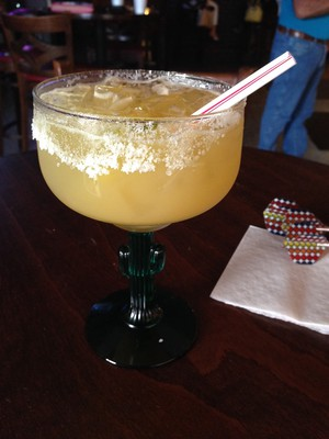 Margarita with extra salt