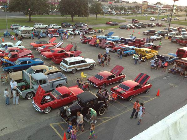 Car show takes place 3rd Saturday of every month March - November